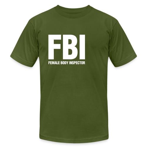 Men's Olive jersey tee - Men's Fine Jersey T-Shirt