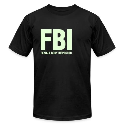 Men's FBI Glow-in-the-dark jersey tee - Men's Fine Jersey T-Shirt