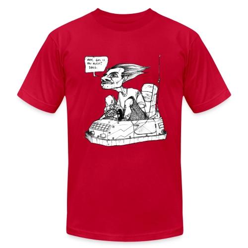 Bumper Car Man - Men's Fine Jersey T-Shirt