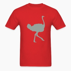 Red ostrich T-Shirts