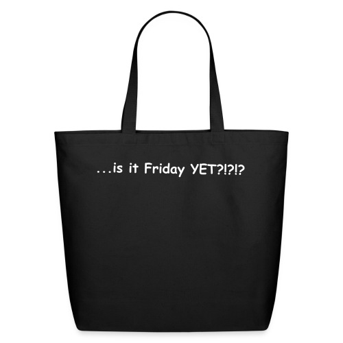 Eco-Friendly Cotton Tote - ...this handbag with the right person at the right time will also say BUT ME A DRINK? with subtlety...