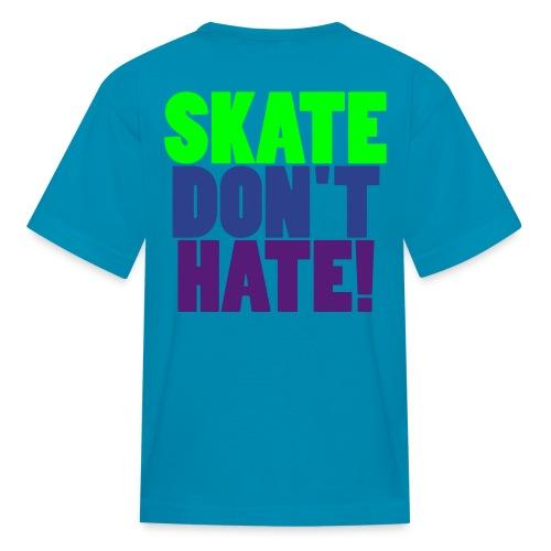 KID'S SKATE TEE - Kids' T-Shirt
