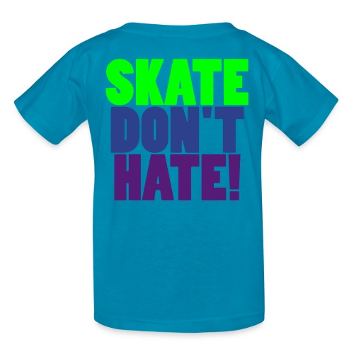 KID'S SKATE TEE - Kids' T-Shirt