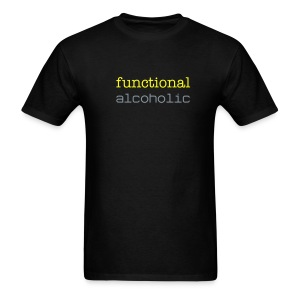 Functional Alcoholic T-Shirt - Men's T-Shirt