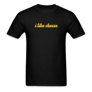 Funny T-Shirts i like cheese Shirt - Men's T-Shirt