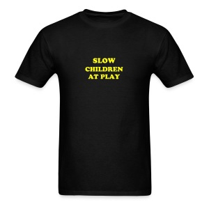 Slow Children at Play - Men's T-Shirt