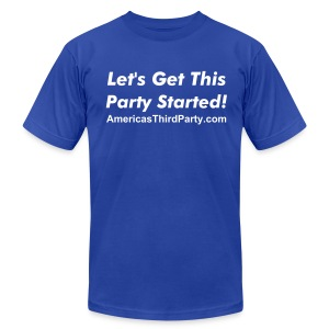 Party Starter - Men's T-Shirt by American Apparel