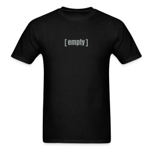 Empty T-Shirt - Men's T-Shirt
