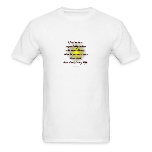 Poetry T-Shirt So Lost Poetry Shirt - Men's T-Shirt