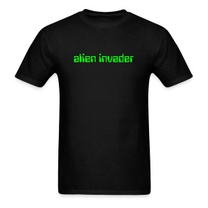 Funny T-Shirts alien invader T-Shirt - Men's T-Shirt
