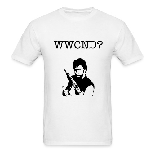 What Would Chuck Norris Do - Men's T-Shirt