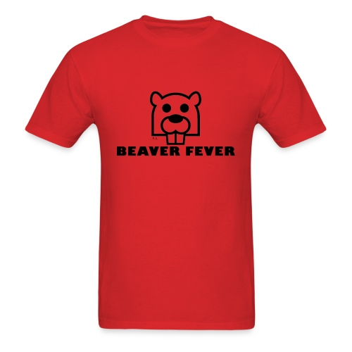 Beaver Fever - Men's T-Shirt