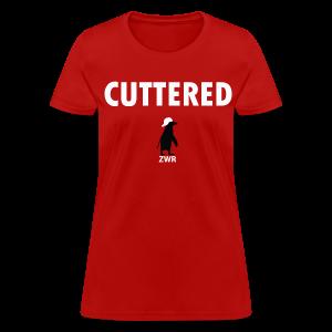 Cuttered - Ladies - Women's T-Shirt