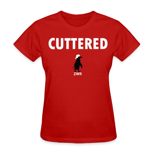 Cuttered - Ladies - Women's T-Shirt