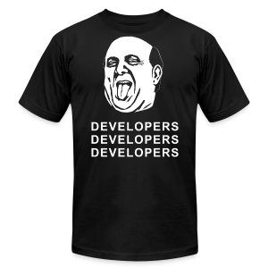 Steve Ballmer T-Shirt - Developers Edition - Men's Fine Jersey T-Shirt