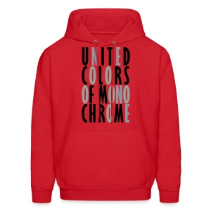 United Colors of Mono Chrome Hoodie for Men - Men's Hoodie
