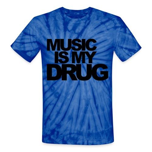 Music Dyed - Unisex Tie Dye T-Shirt