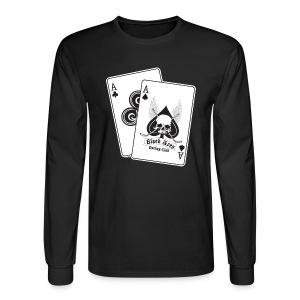 Black Aces Hockey Club - Cards - Men's Long Sleeve T-Shirt