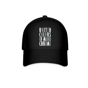 United Colors of Mono Chrome Baseball Cap for Men & Women - Baseball Cap