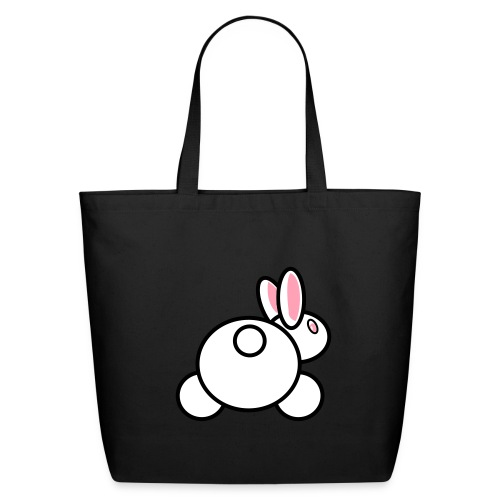 Baby Got Back - Rabbit Tote Bag for Women - Eco-Friendly Cotton Tote