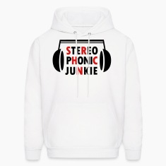 White Stereo Phonic Junkie Hoodies