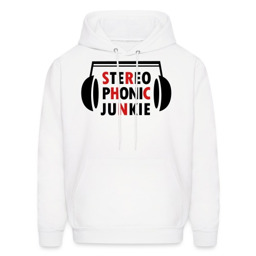Stereo Phonic Junkie Hoodie for Men - Men's Hoodie