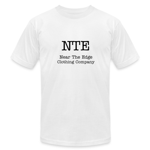 Near The Edge  Short Sleeve Sleeve T-Shirt - Men's Fine Jersey T-Shirt