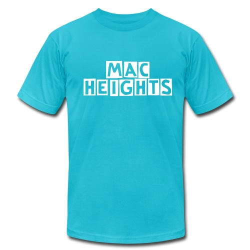 welcome to the mac - Men's Fine Jersey T-Shirt