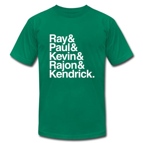 Boston Celtics 2008 - Men's Fine Jersey T-Shirt
