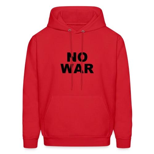 No War Hoodie - Men's Hoodie