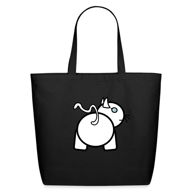 Baby Got Back Kitty Tote Bag For Women