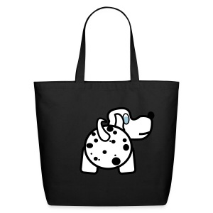 Baby Got Back - Dalmatian Tote Bag for Women - Eco-Friendly Cotton Tote