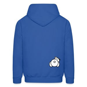 Baby Got Back - Polar Bear Hoodie for Men - Men's Hoodie
