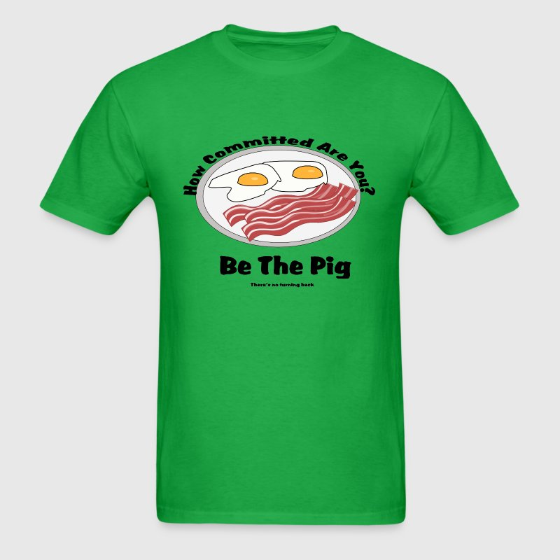 be the pig - Men's T-Shirt