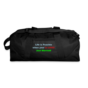 Life is peachie when your in love, just married - Duffel Bag