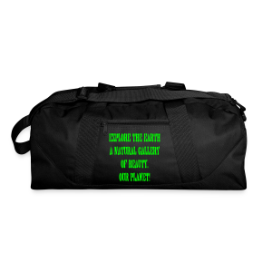 Explore the earth our planet - Duffel Bag
