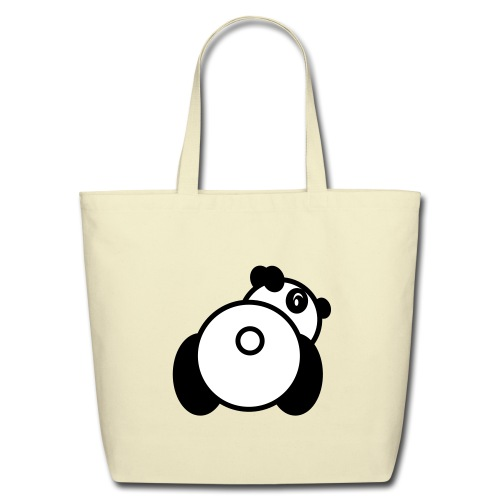Baby Got Back - Panda Tote Bag for Women - Eco-Friendly Cotton Tote