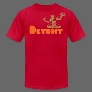 Spirit of Detroit Men's American Apparel Tee - Men's T-Shirt by American Apparel