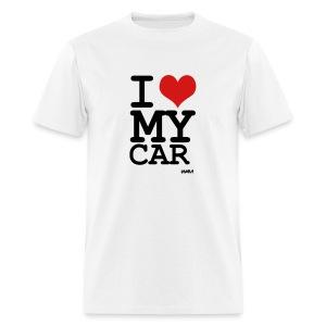 I LOVE MY CAR T-Shirt - Men's T-Shirt