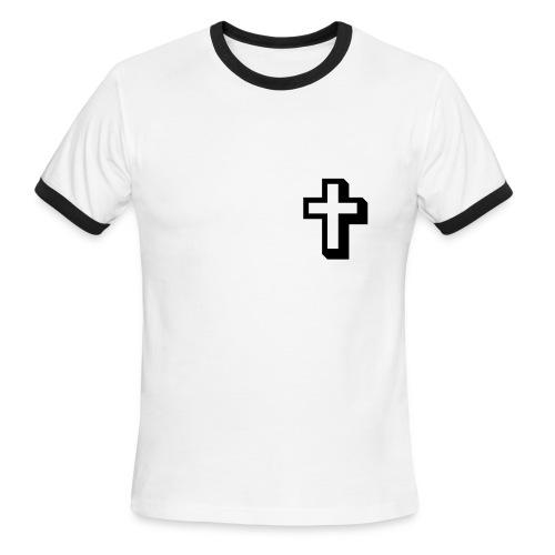 Men's Ringer T-Shirt - Lightweight Ringer Tee