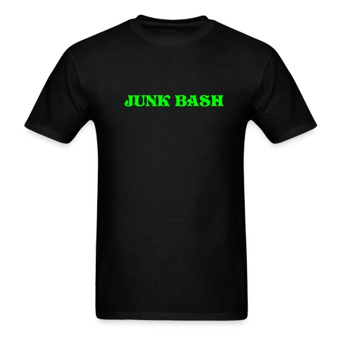 Light Weight Men's Junk Bash(Green Text) - Men's T-Shirt