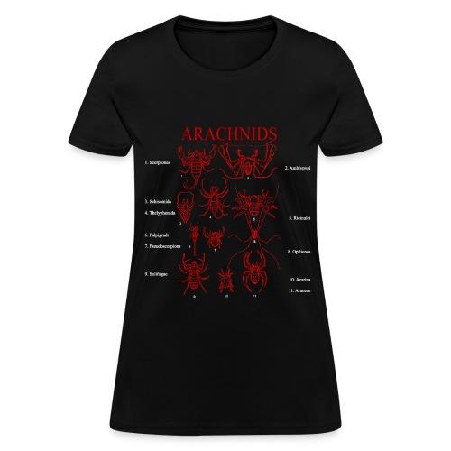 Arachnids - Women's T-Shirt