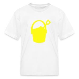 sand bucket - Kids' T-Shirt