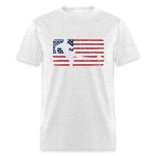 Soccer USA T-Shirt - Men's T-Shirt