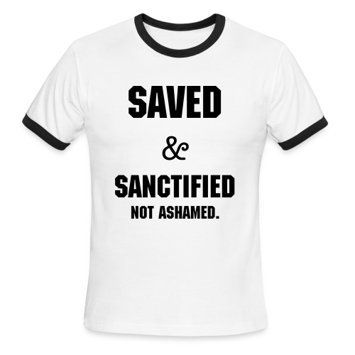 Saved & Sanctified M - Men's Ringer T-Shirt