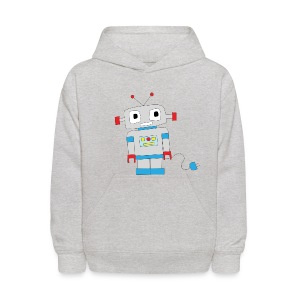 Cute robot - Kids' Hoodie