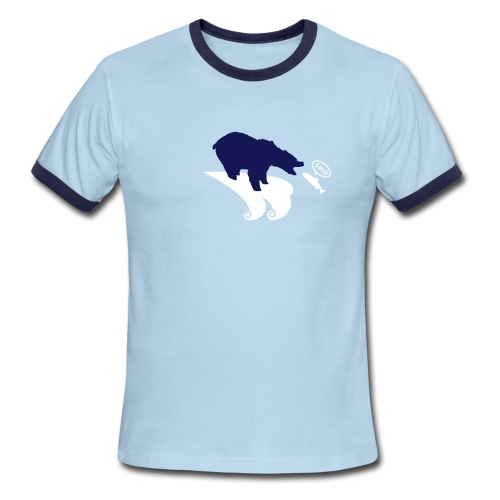 [bear] - Men's Ringer T-Shirt