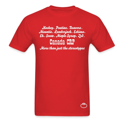 Canada Stereotypes for Guys - Men's T-Shirt