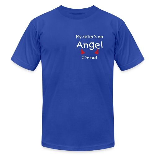 Adult sized my sister is..... - Men's Fine Jersey T-Shirt