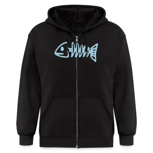 logo hoodie - Men's Zip Hoodie